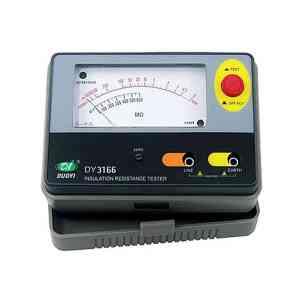 DUOYI DY3166 Analog Insulation Resistance Tester Meter Megohmmeter