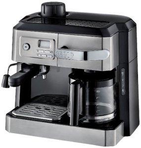 DeLonghi BC0330T Combination Drip Coffee and Espresso Machine