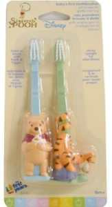 Disney Winnie the Pooh Baby's First Toothbrushes