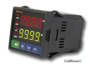Lightobject ETC-JLD612-DC Dual Display Fahrenheit and Celsius PID Temperature Controller, DC 12V-30V