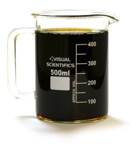 Premium Beaker Mug, Thick Borosilicate Glass, 16.9oz (500mL) Capacity