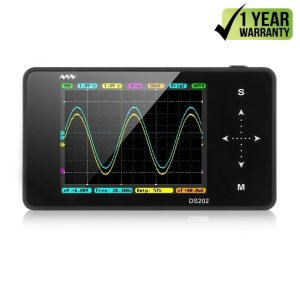 SainSmart 2015 NEW Nano ARM DSO Note II Portable Mini Handheld Touch Screen Digital Storage Oscilloscope, 8MB Memory Storage 2MHz 10Mps