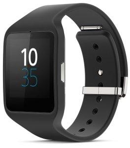 Sony SWR50 SmartWatch 3 Transflective Display Black Watch