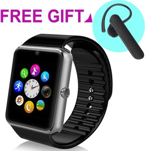 StarryBay SW-08-1 Sweatproof Smart Watch Phone for iPhone 5s66s and 4.2 Android or Above SmartPhones
