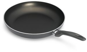 Bialetti 6168 Italian Collection Saute Pan, 12-inch, Charcoal