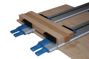 E. Emerson Tool Co. CT50 50-Inch All-In-One Contractor Twin Straight Edge Bench Clamp and Tool Guide
