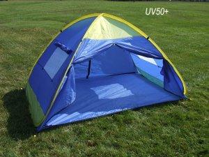 Genji InstantUp Pop Up Park and Beach Sun Shelter Tent with Door