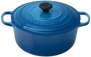 Le Creuset Signature Enameled Cast-Iron 7-14-Quart Round French (Dutch) Oven, Marseille