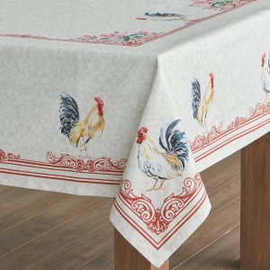 Maison d' Hermine Campagne 100% Cotton Tablecloth 60 - inch by 90 - inch