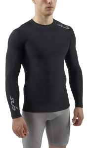 SUB Sports COLD Mens Compression Shirt-Long Sleeve Top Thermal Base Layer