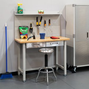Seville Classics UltraHD Lighted Workbench