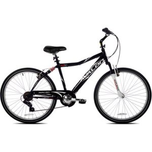 26 Next Avalon Men's Comfort Bike with Full Suspension, Black