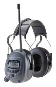 3M Peltor WorkTunes Digital Hearing Protector, MP3 Compatible with AMFM Tuner