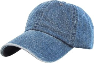 Classic Cotton Dad Hat Adjustable Plain Cap. Polo Style Low Profile