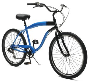 Critical Cycles Chatham-7 Men's Beach Cruiser 26 Single-Speed