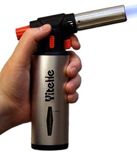 Culinary Torch - Cooking Torch - Chef's Best Torch - Crème Brulee Torch - Blow Torch - Multifunctional Heat Resistant