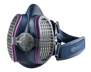 GVS Elipse SPR451 P100 Elipse Half Mask Respirator, SmallMedium, Blue