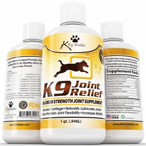 Glucosamine for Dogs Liquid Joint Supplement with Chondroitin and MSM