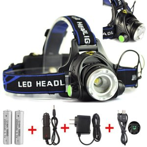 Goreit® Zoomable LED Headlamp