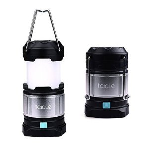 Led Camping Lanterns Flashlights with 4400 mAh USB Power Bank,