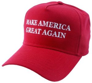 MAKE AMERICA GREAT AGAIN - Vote TRUMP 2016 - EMBROIDERED OR PRINTED CAP hat
