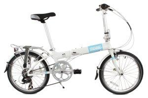 MOBIC City X7 Folding Bike - Strong Lightweight Aluminum Frame