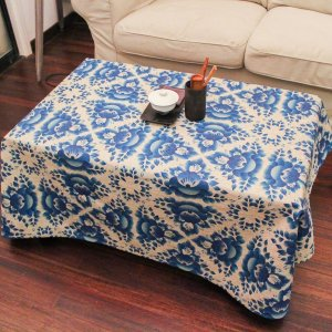 MeMoreCool Boho Exotic Cotton Linen Tablecloth,Vintage Pastoral Style Home Decoration Tablecloth,Picnic Outdoor Table Cloth