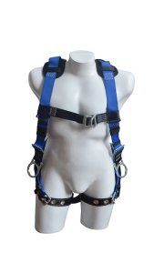 NARA SAFE NS9300002, Full body harness, 4 D-rings multi-purpose harness, fall protection