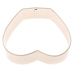 Naughty Cookie Cutter by Elltesa, Premium Quality Stainless Steel, Bonus Cookie Recipes, Durable & Long Lasting, Easy Wash,