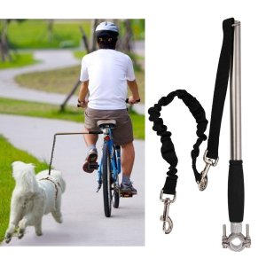Newest Model Hands Free Dog Bike Leash Bicycle Exerciser Training Leash for Dogs