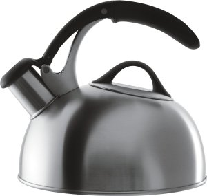OXO Good Grips Pick Me Up Tea Kettle, Brushed Stainless