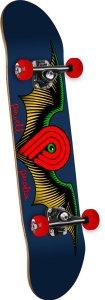 Powell-Peralta Winged P Skateboard Deck, Navy