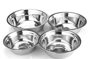 Stainless-Steel Mixing Bowl (Set of 4) - Utopia Kitchen