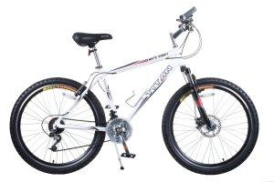 TITAN White Knight Aluminum Suspension Men's Mountain Bike with Disc Brake