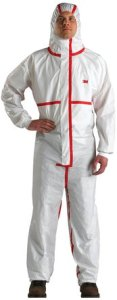 3M Disposable Chemical Protective Hooded Coverall 4565