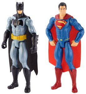 Batman v Superman Dawn of Justice Batman and Superman Figure 2-pack