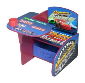 Delta Children Chair Desk With Storage Bin, DisneyPixar Cars