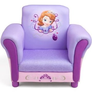 Delta UP85703SF Disney Junior Sofia the First Upholstered Chair purple