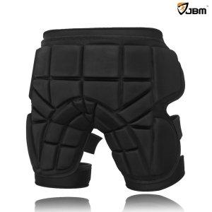 JBM 3 Sizes Hip Padded Shorts Adjustable Protective Gear for Multi-sports Purpose Snow Skiing, Hockey, Skateboarding, Snowboard, Riding