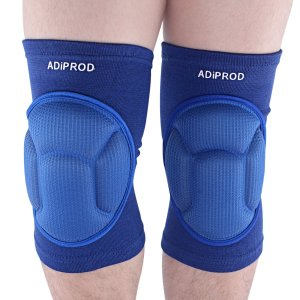 Knee Pads , ADiPROD (1Pair) Thick Sponge Collision Avoidance Kneeling Kneepad Outdoor Climbing Sports Riding Protector Protection