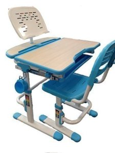 Reo-Smart Bobbie Height Adjustable Children Desk & Chair Set (Blue)
