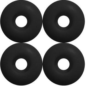 Skateboard WHEELS Blank 56mm BLACK Skateboards
