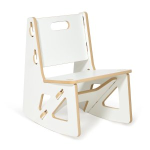 Sprout Kids Rocking Chair, White