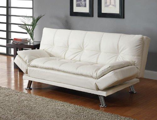 Coaster Sofa Bed White