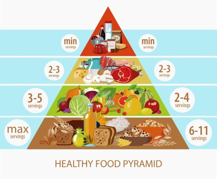 food pyramid for your fitness goals