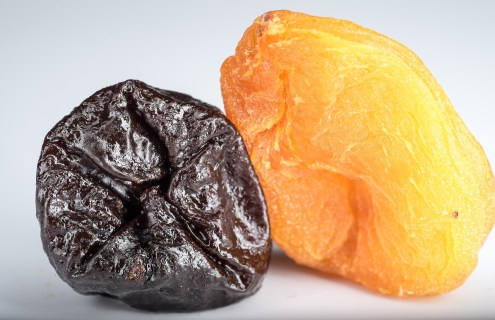 dried prune and apricot
