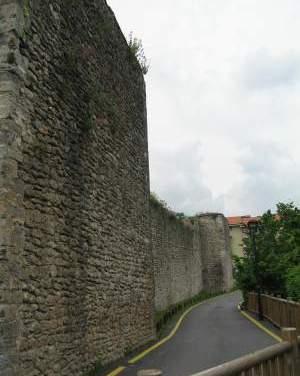 El recinto fortificado de Orduña