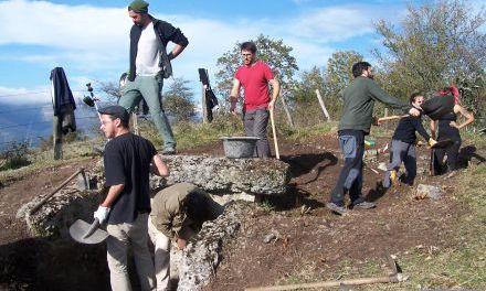 El monte San Pedro desvela su historia y pasado bélico