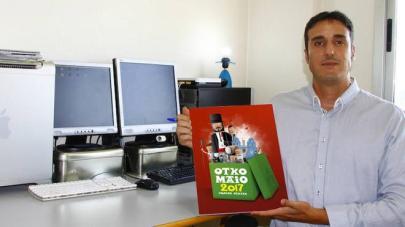 """El murciano Rubén Lucas pone rostro a los """"˜Ochomayos' por tercer año consecutivo"""