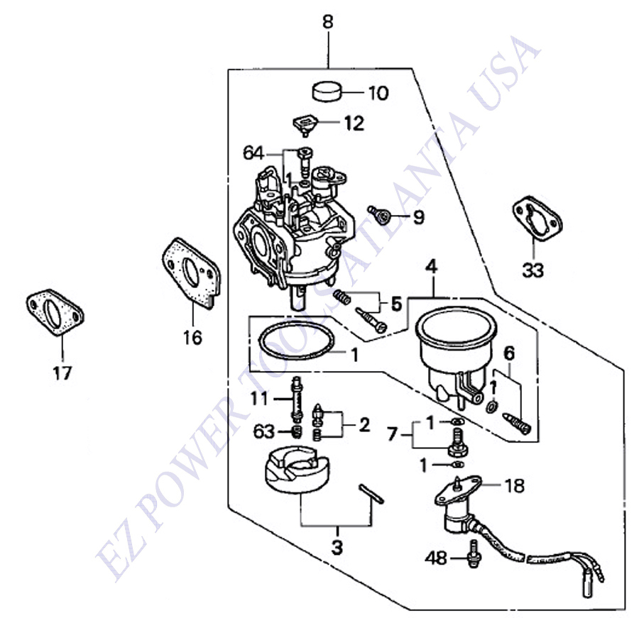 Diagram Honda 6500 Generator Wiring Diagram